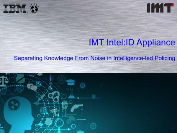 INTEL ID 2019 Presentation