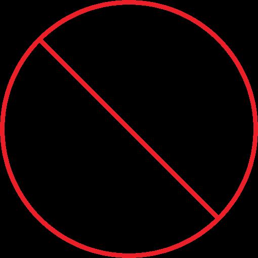 zero footprint icon
